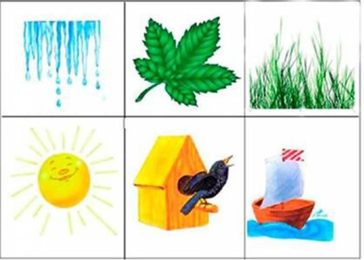 Признаки весны картинки для детского сада