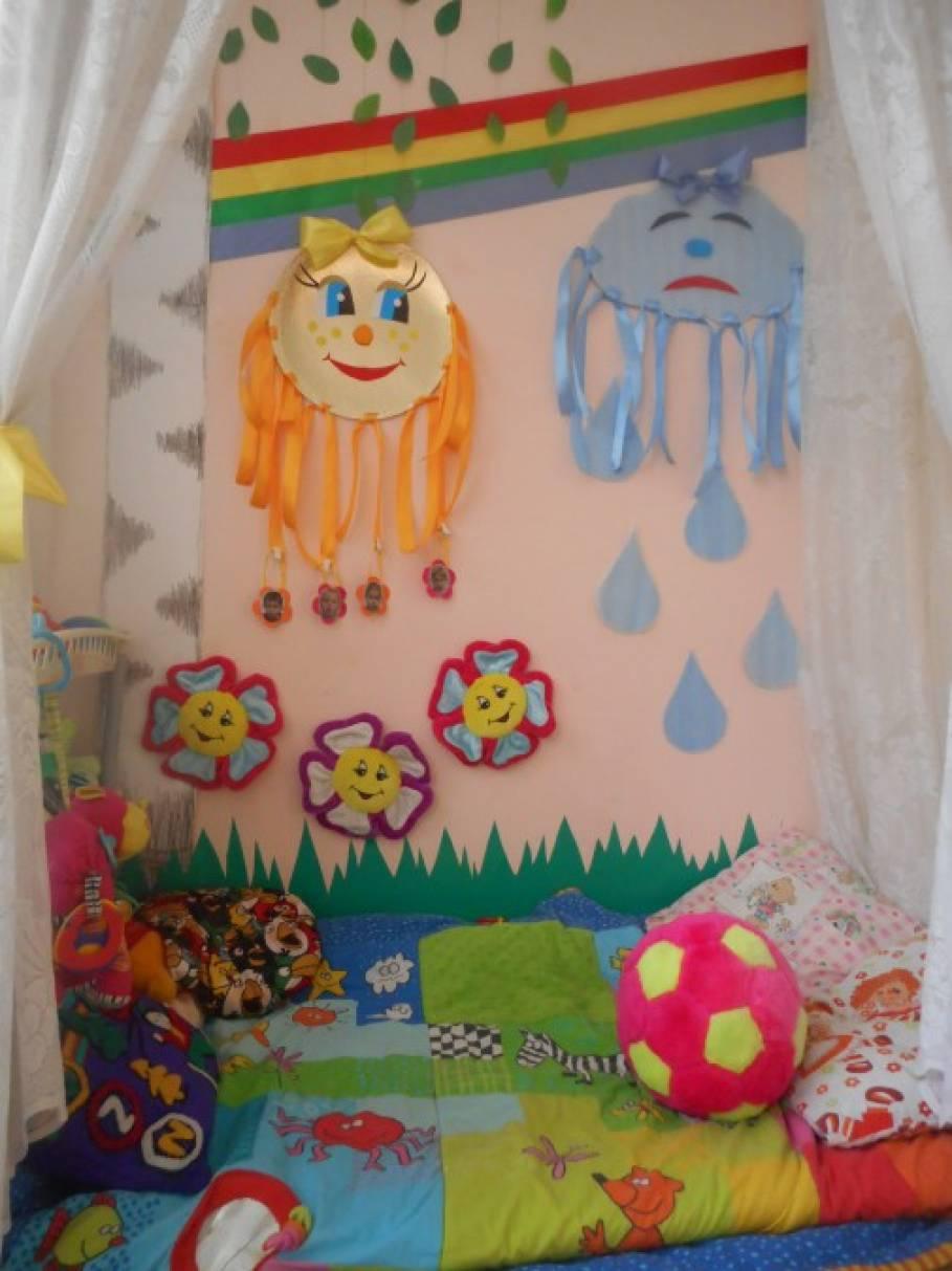 Уголок настроения в детском саду своими руками фото по фгос