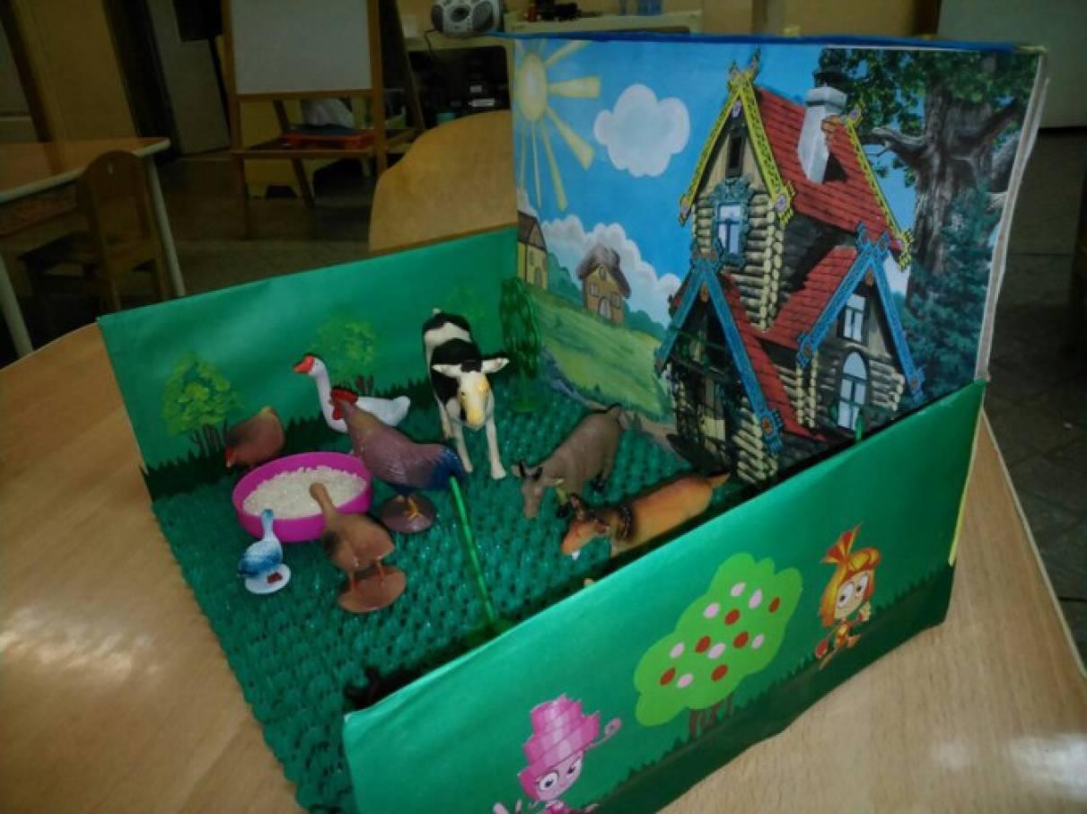 Макет птицы своими руками в детский сад