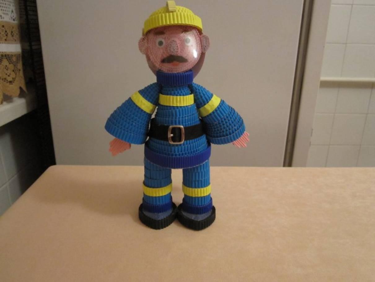 Пожарник своими руками 39