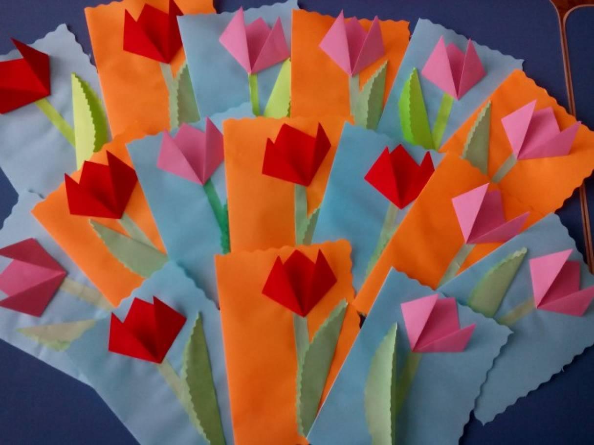 Открытка на 8 марта маме средней группе, открытки цветы мальчику