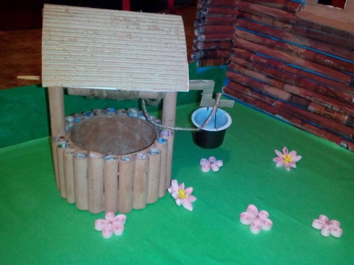 Поделка колодец своими руками для детского сада