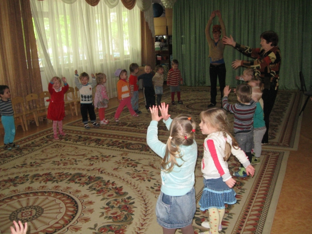 Сценарий развлечения для младших групп