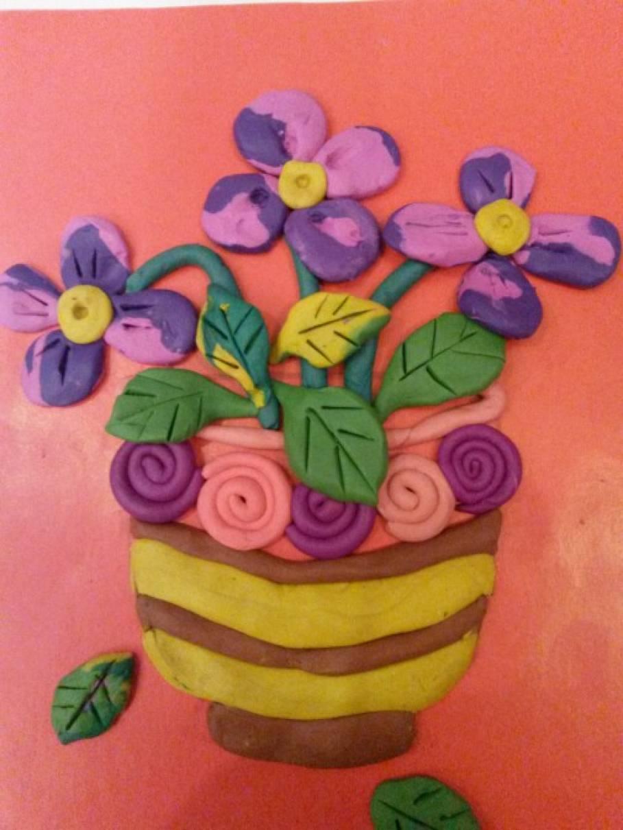 Поделки вазочка для цветов