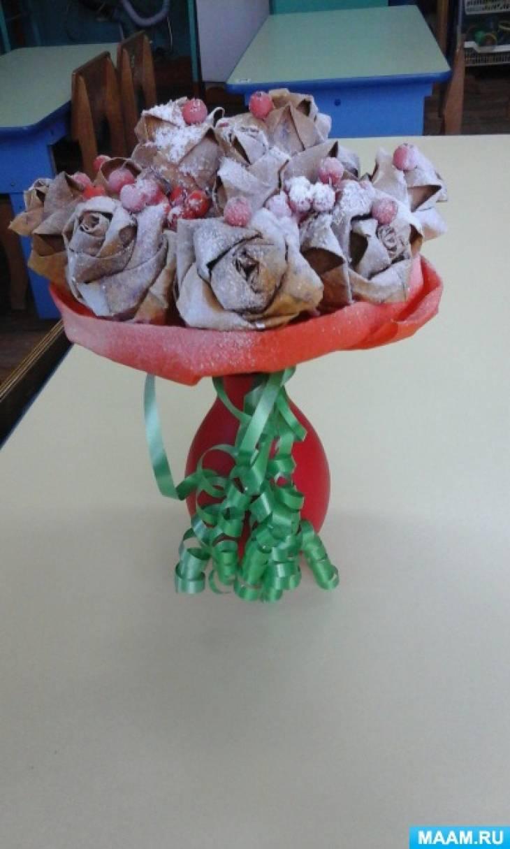 Мастер-класс «Розы из листьев клена»