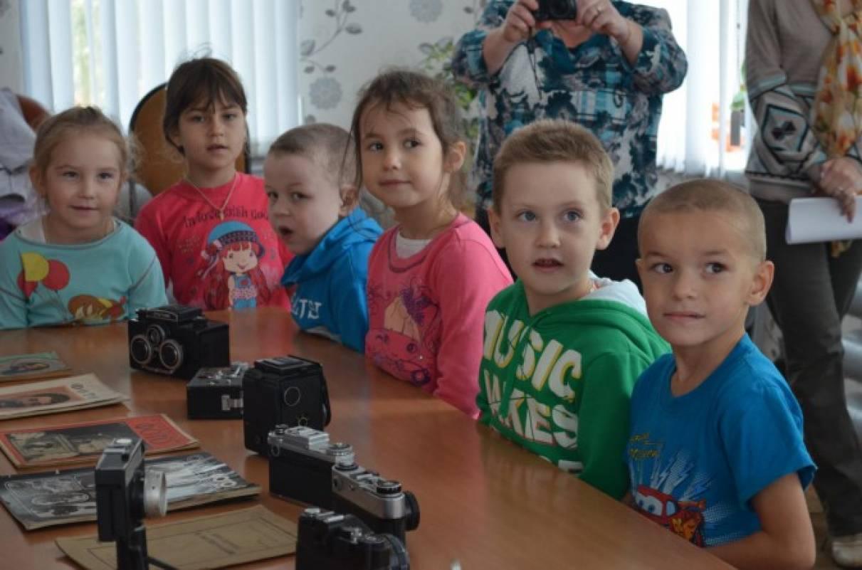 знакомство с фотоаппаратом в детском саду