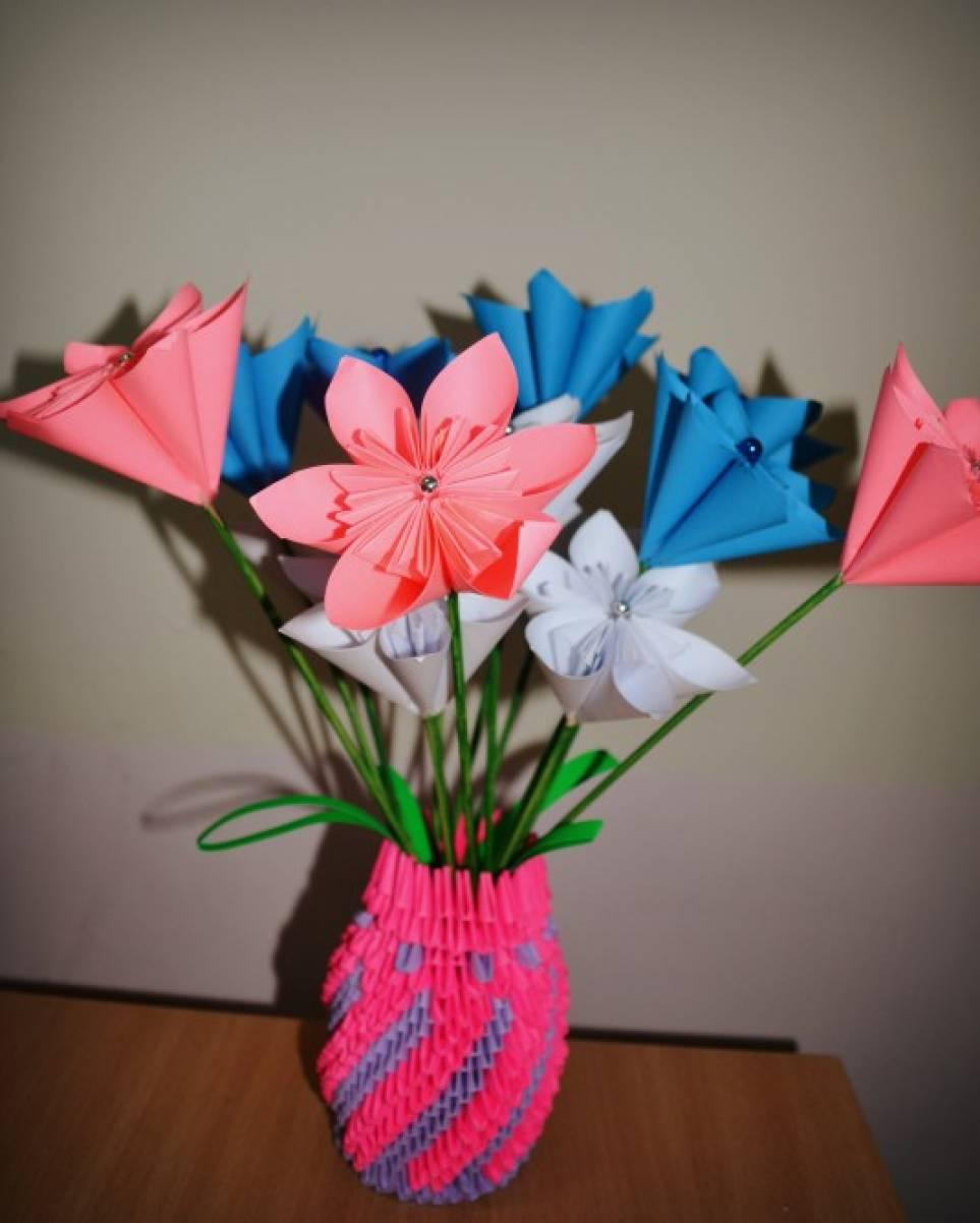 знакомство с оригами в подготовительной группе
