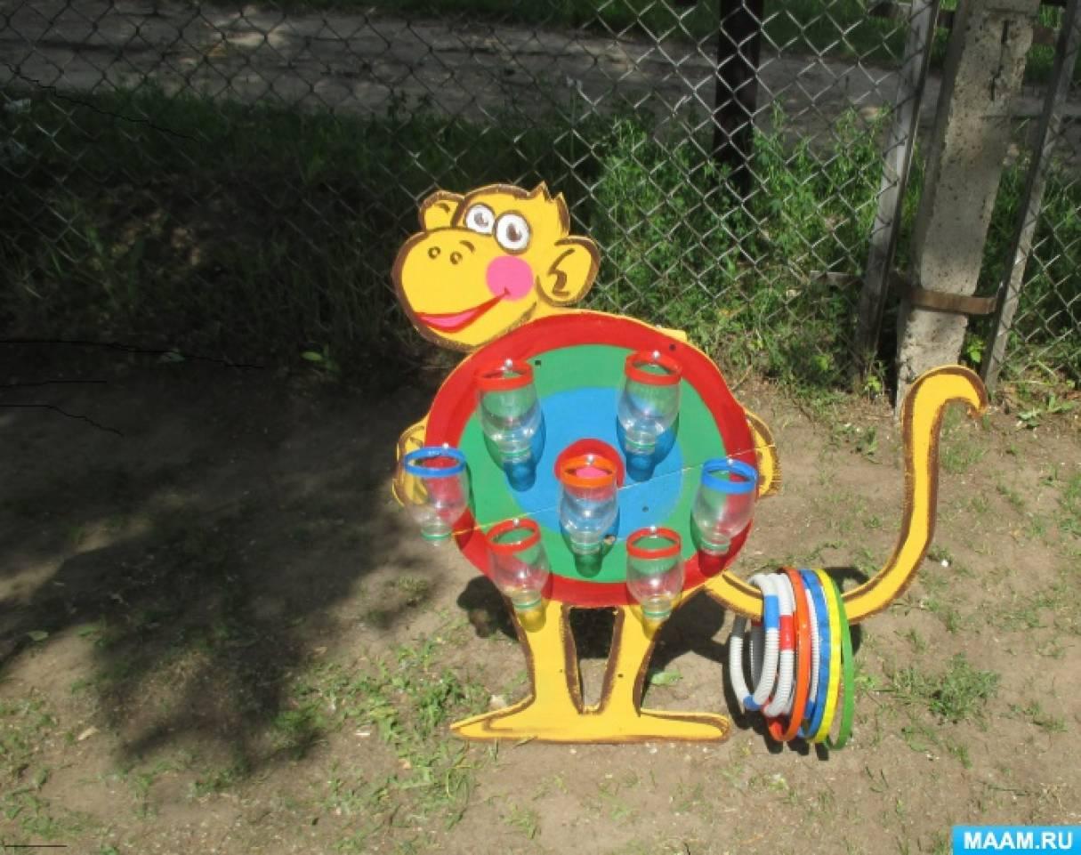 Идеи для детского сада для площадки своими руками 71