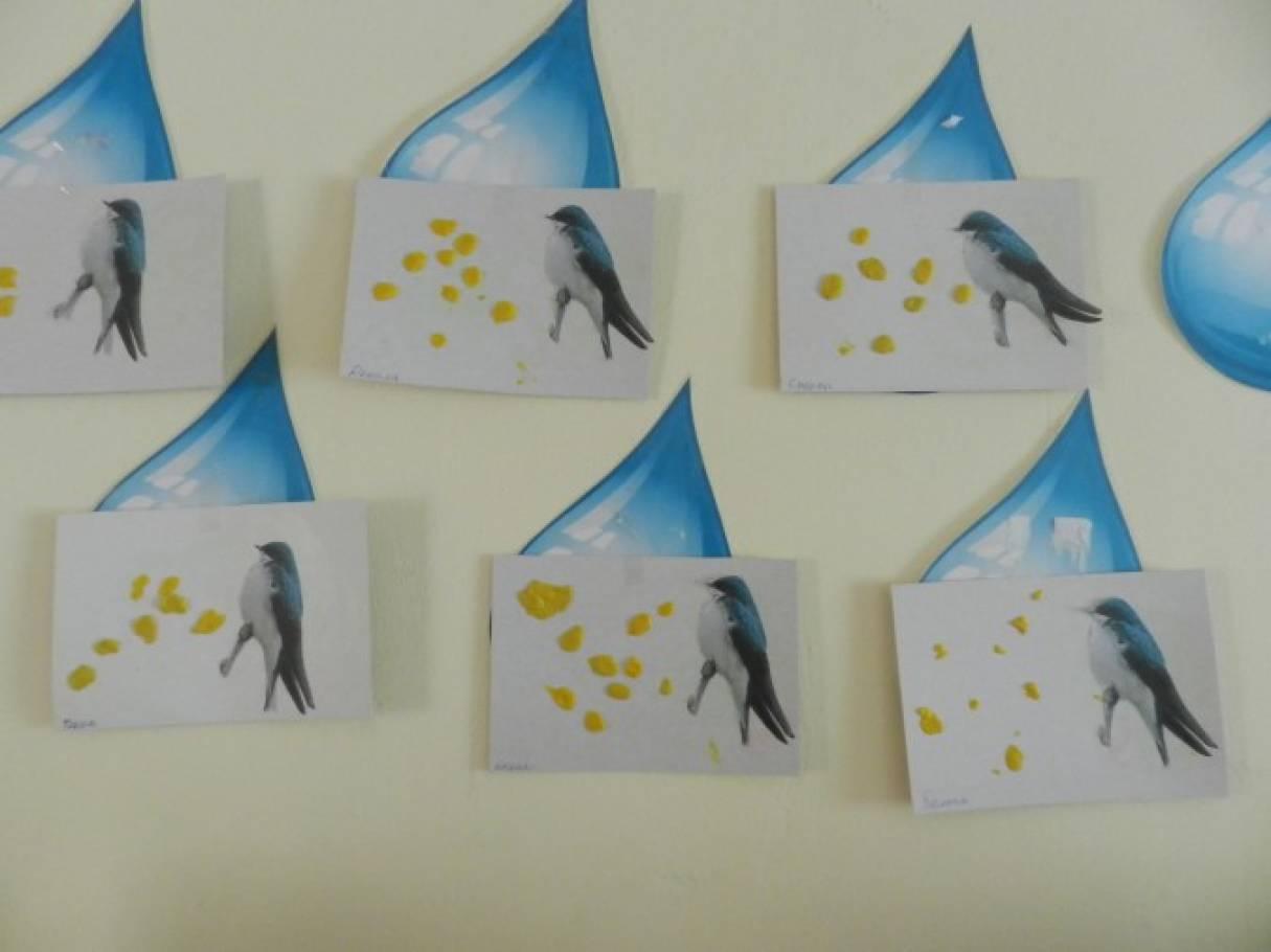 Конспект НОД по художественно-эстетическому развитию в младшей группе «Зернышки для птички»