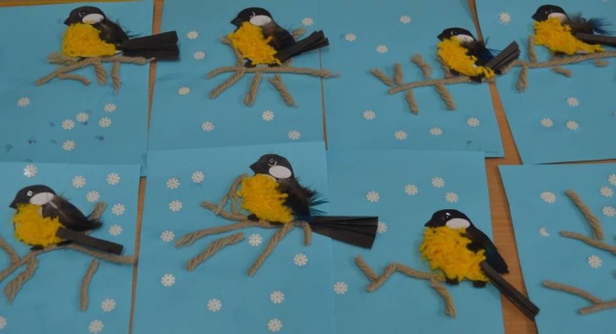 Синичкин день поделка в детский сад