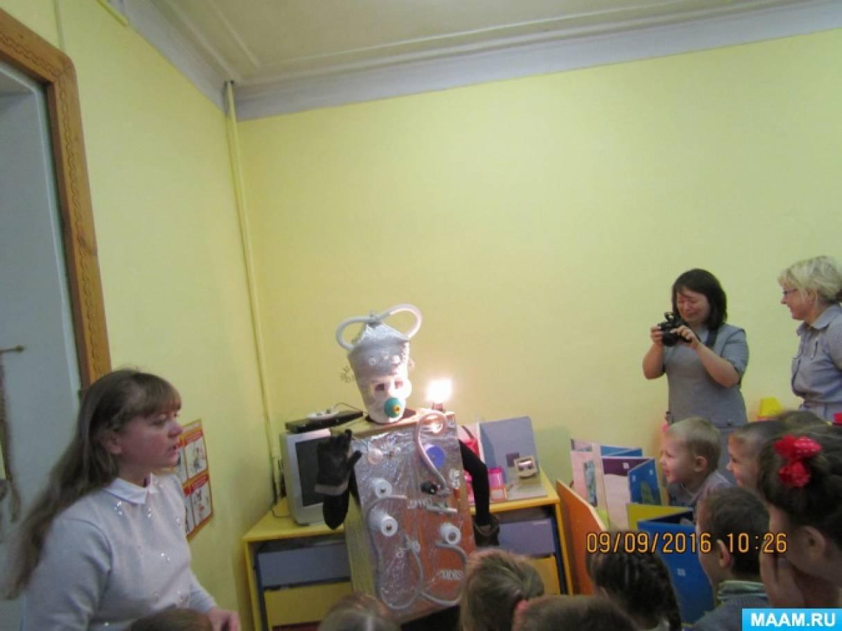 Конспект занятия электричество и электрические приборы средняя группа