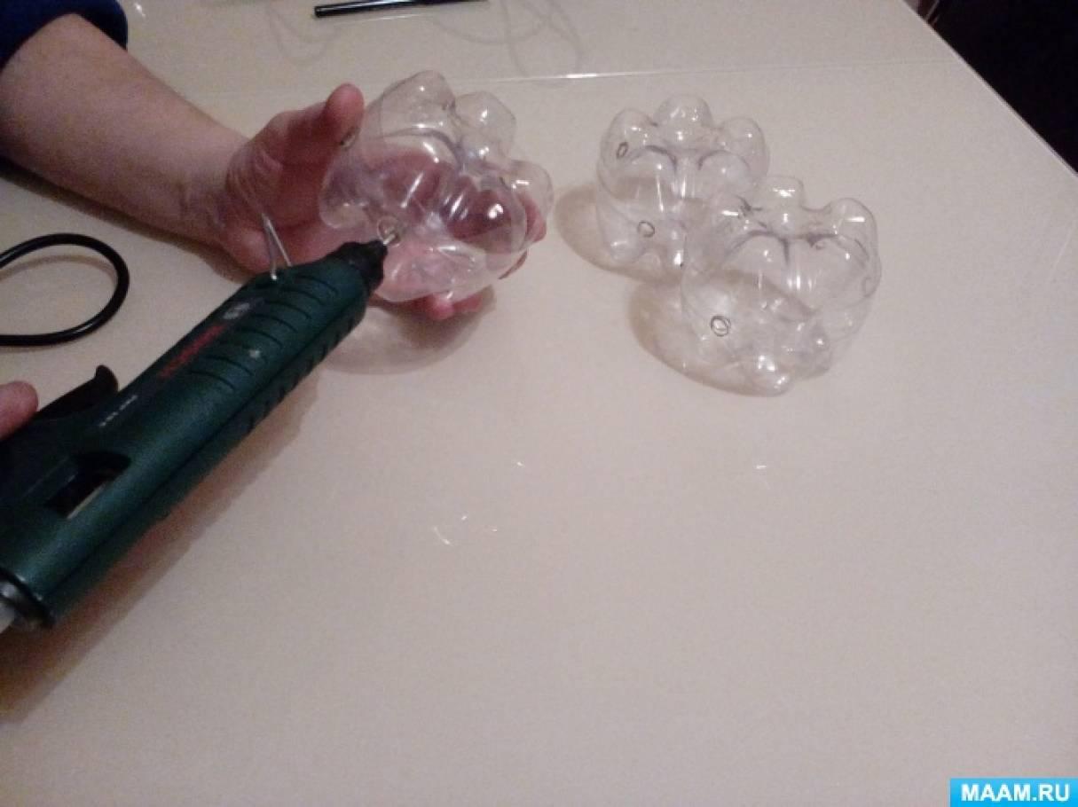 Поделки из верёвки из пластиковой бутылки 62