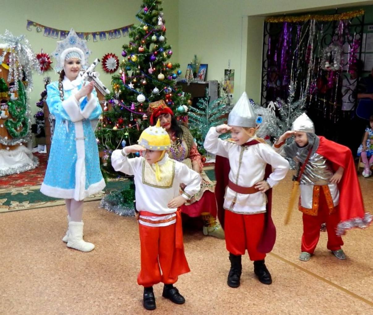 Новогодние сценки для школьников