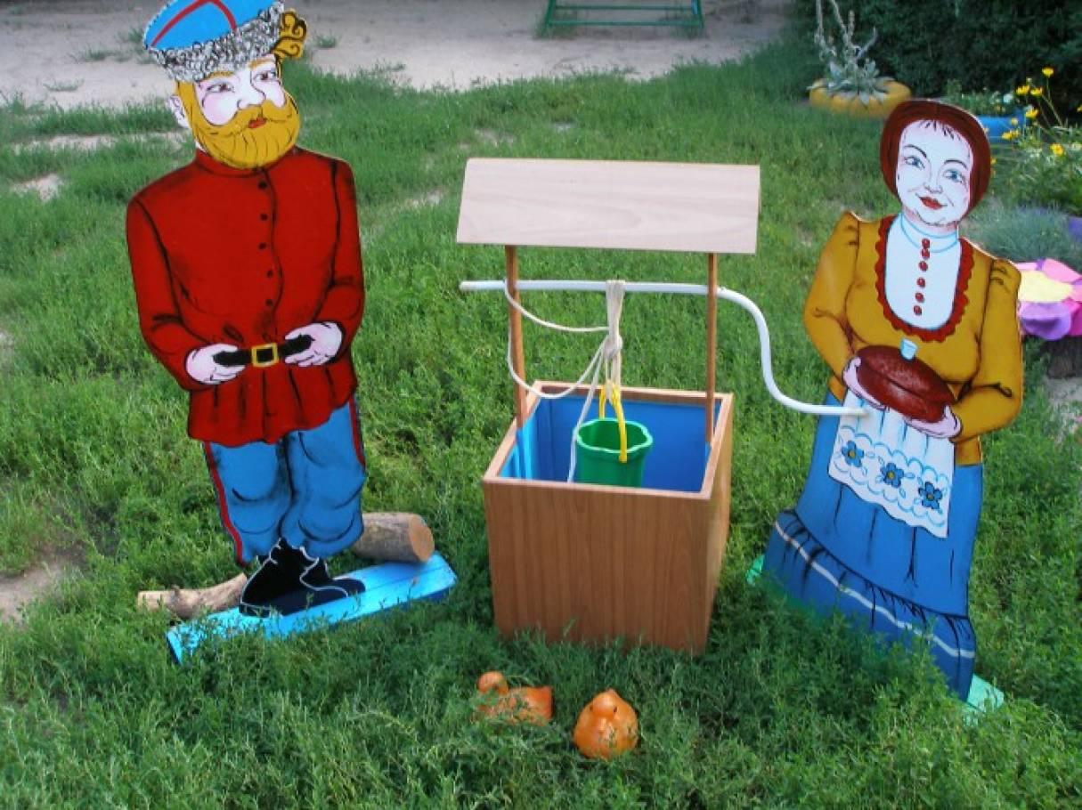 Оформление детской площадки в Кубанском стиле «Мини-музей»