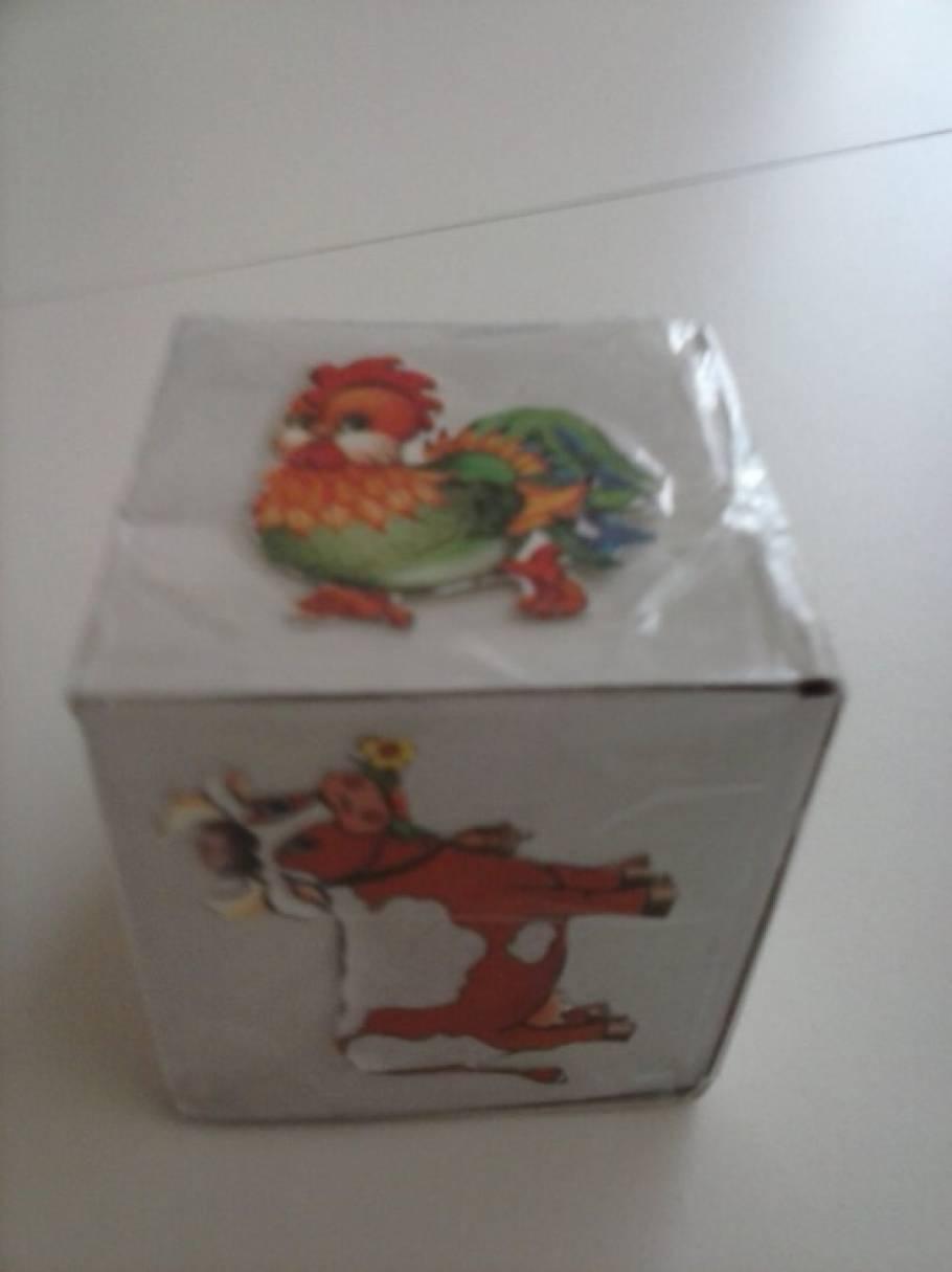 Дидактическая игра по обучению правильному звукоподражанию «Волшебный кубик» для детей младшего дошкольного возраста