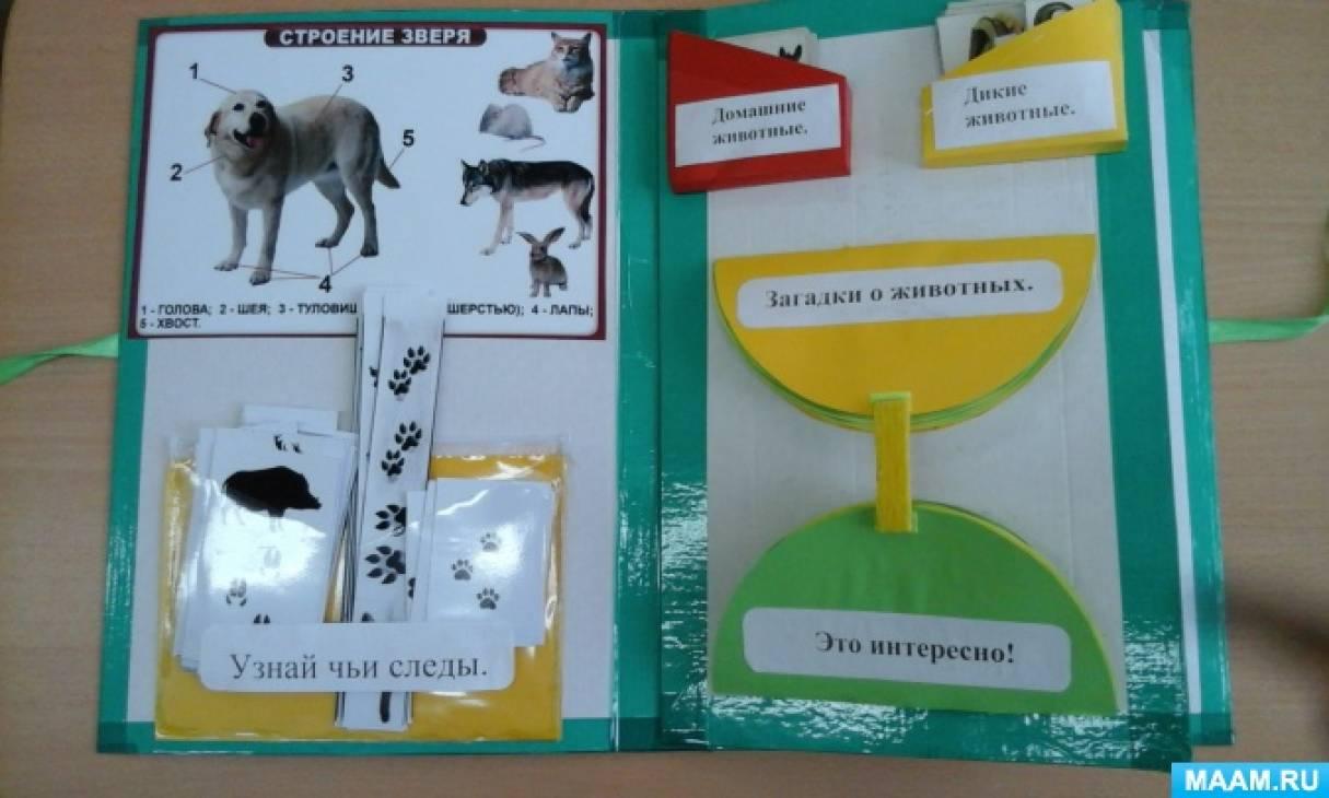 Лэпбук про домашних животных своими руками
