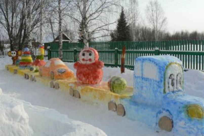 Зимний сад в детском саду