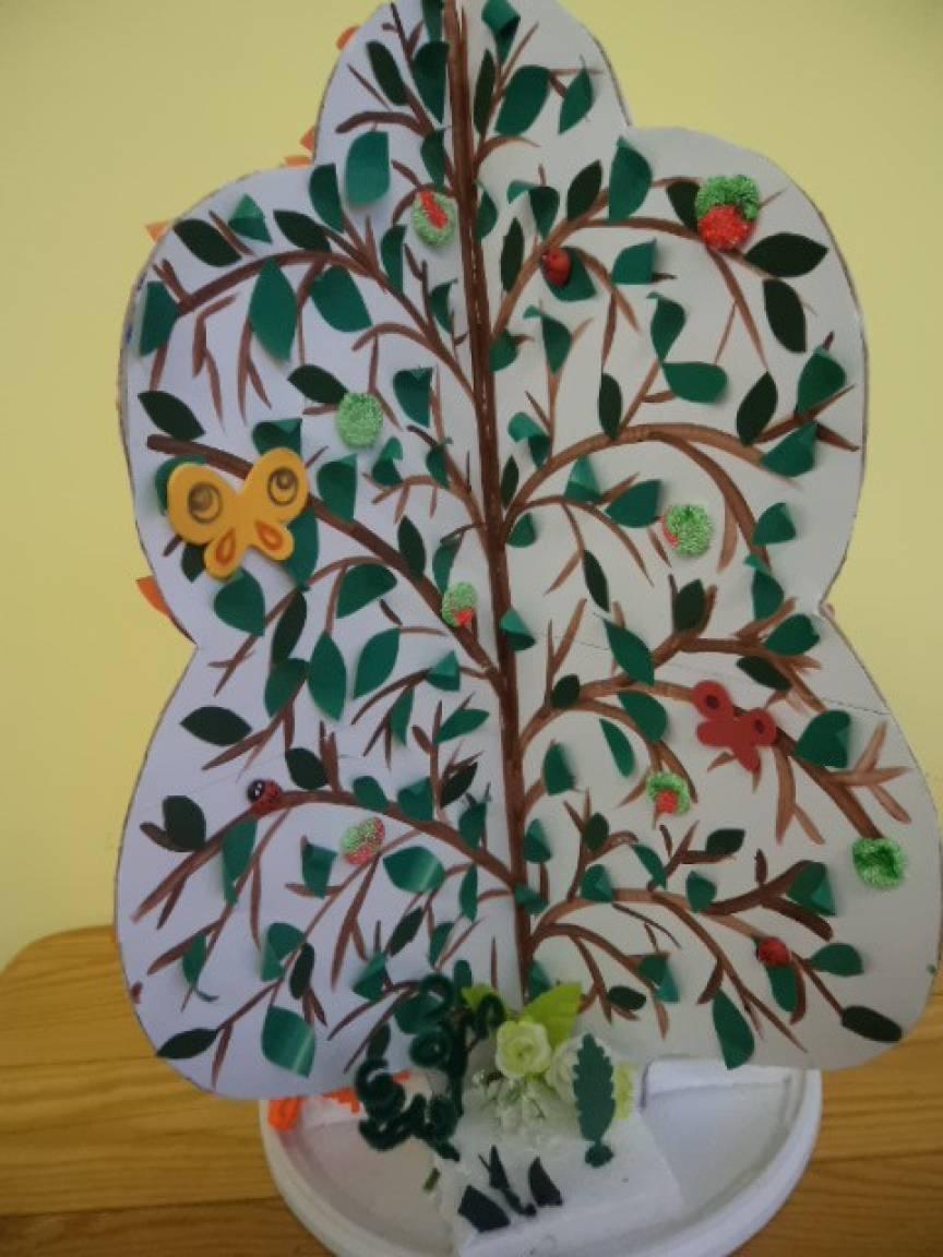 Мастер-класс «Дерево. Времена года»