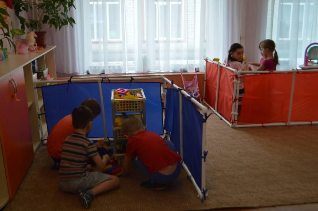 Ширма в детском саду из труб мастер класс
