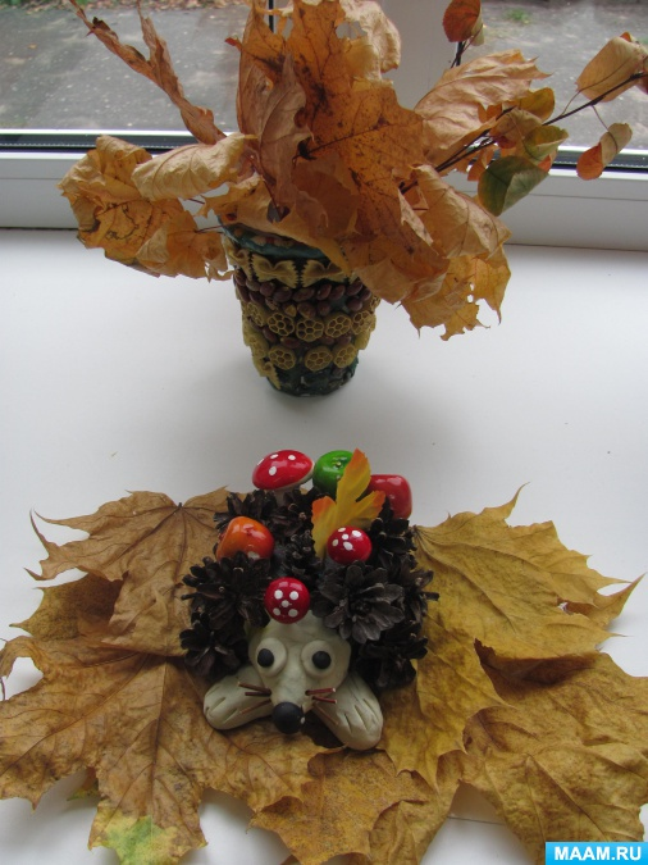 Осенние поделки фото своими 560