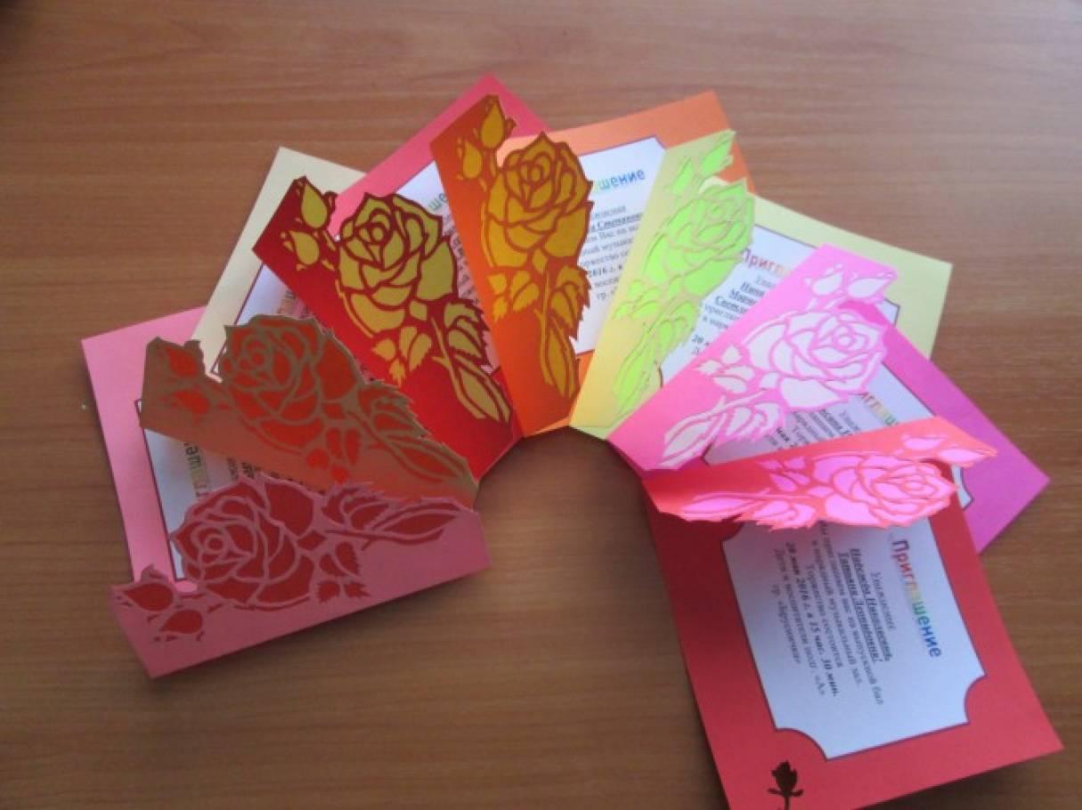 Валентинки, открытки сотрудникам детского сада своими руками