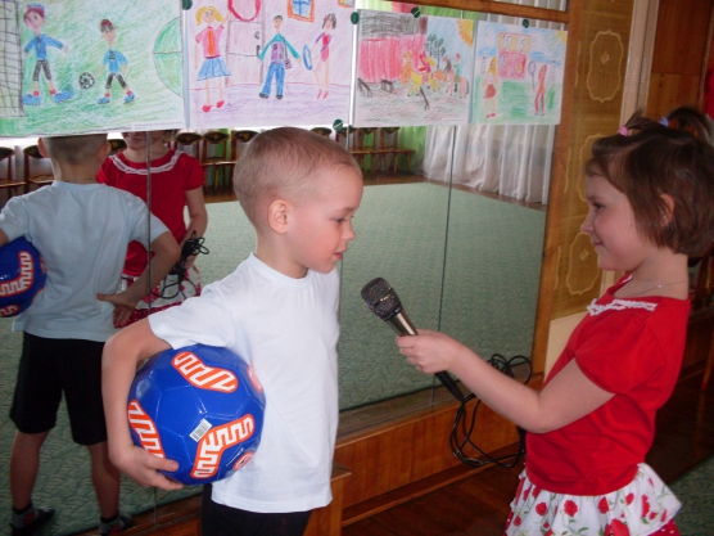 знакомство детей с творческими профессиями
