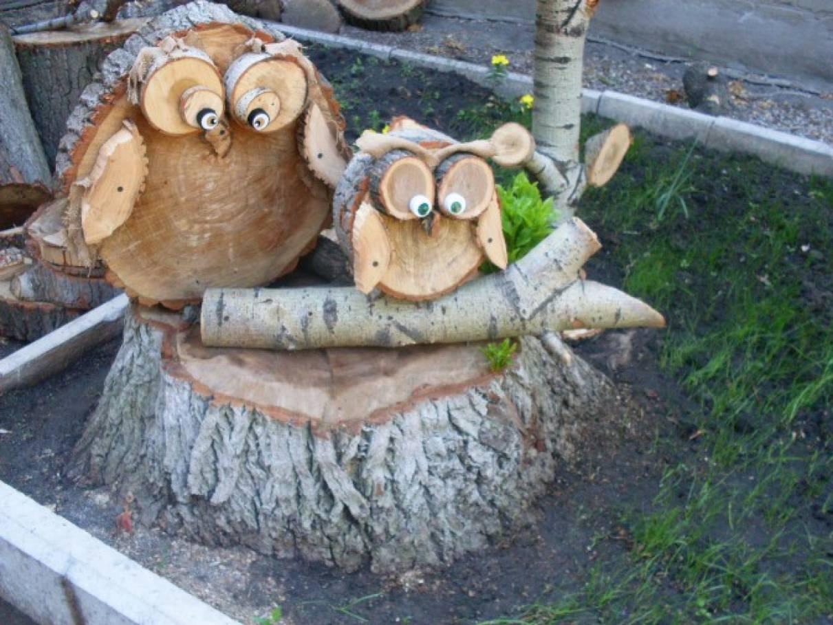 Интересные поделки из дерева в школу