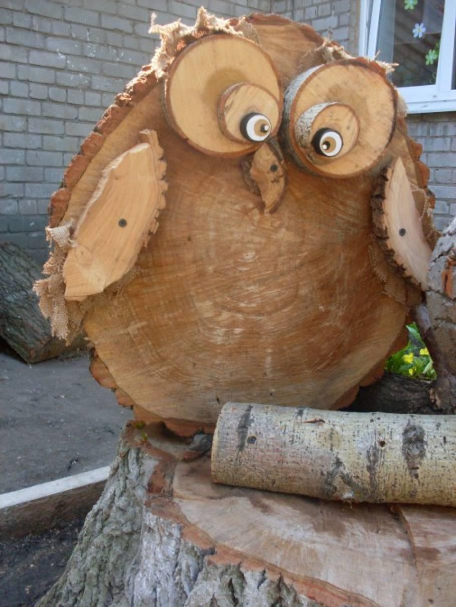 Поделки своими руками из деревянных спилов