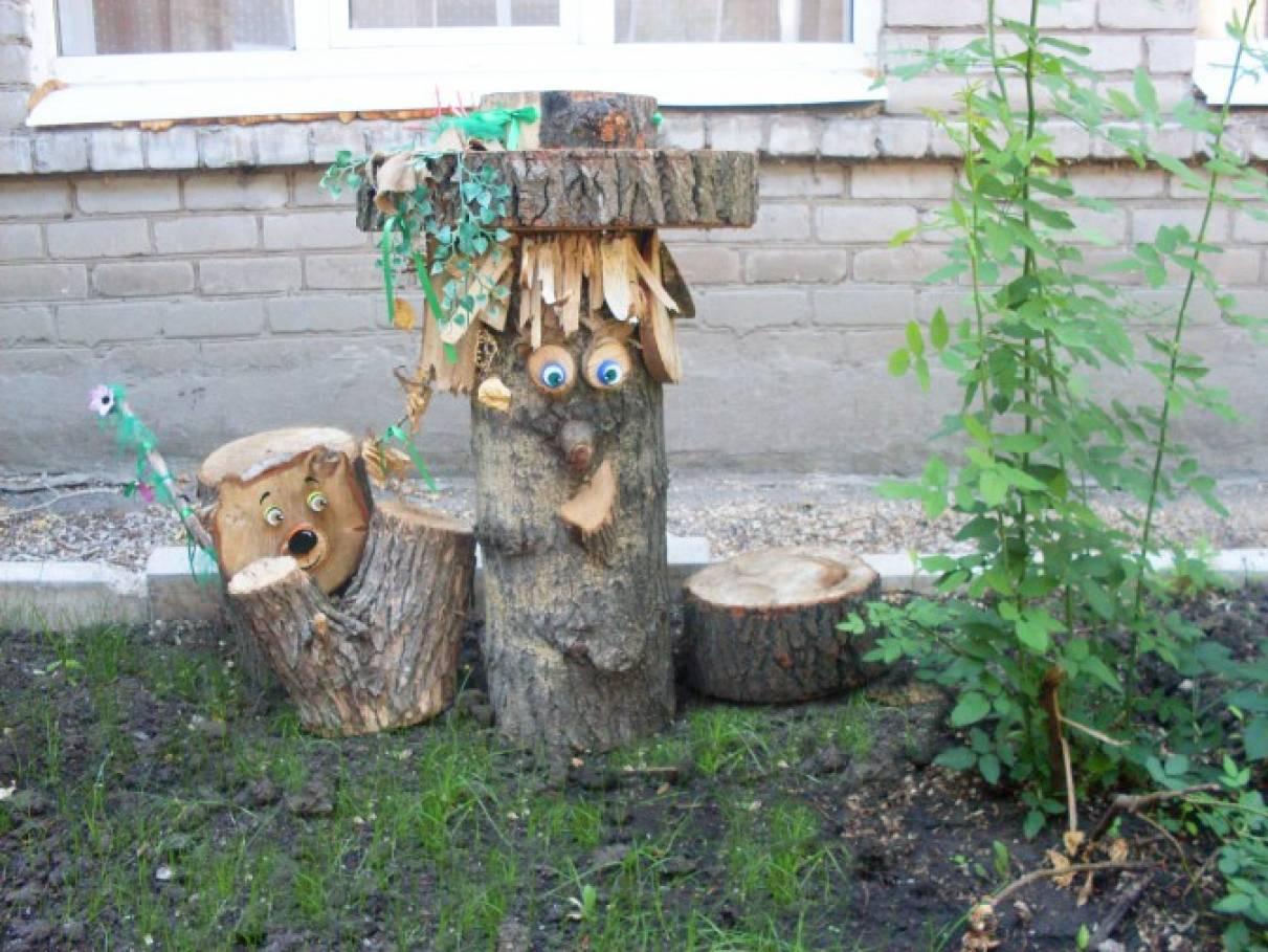 Смешарики своими руками из спилов дерева 26