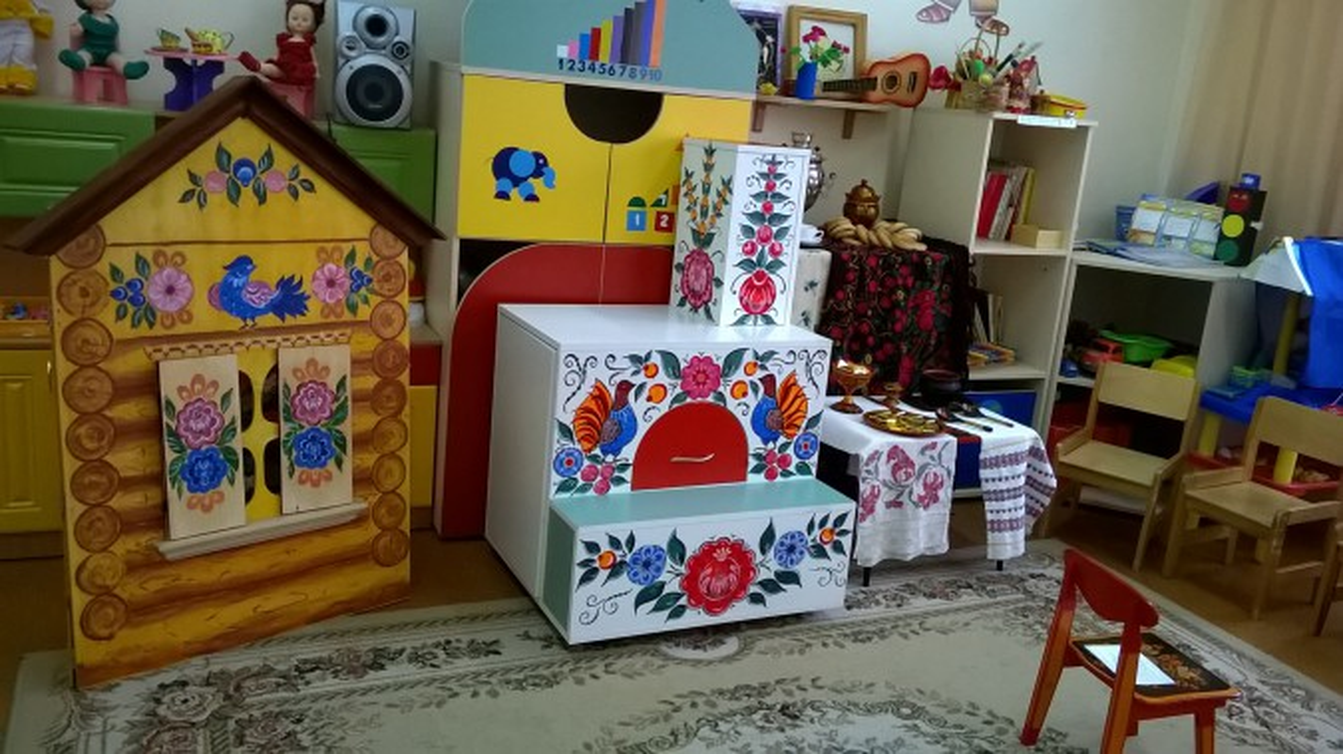 Совместная деятельность воспитателя с детьми подготовительной группы «Изготовление русской народной куклы»