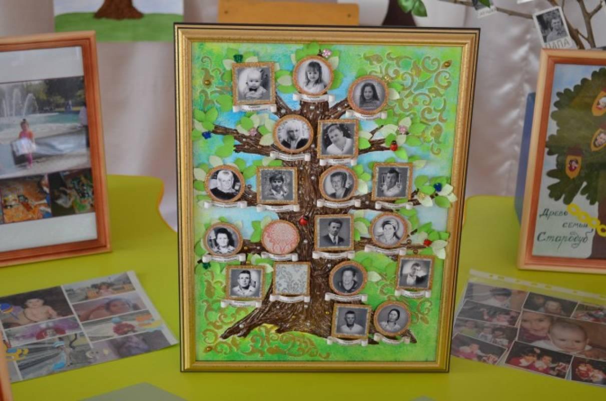 Древо своими руками в детский сад 25