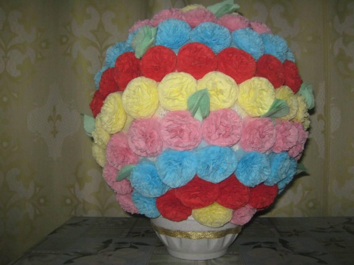 Как из салфеток сделать шары из