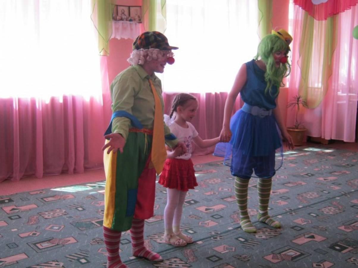 Фотоотчёт о праздновании дня рождения в детском саду