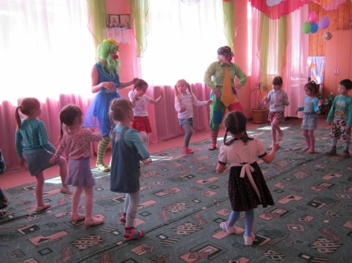 Сценарий праздника дня семьи в детском саду