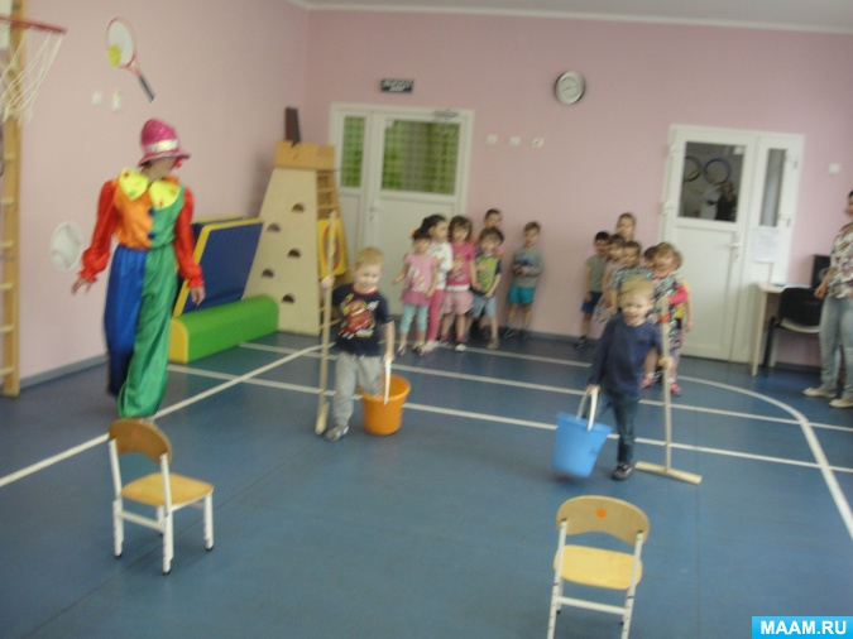 Сценарий праздника «День смеха с Клоуном»