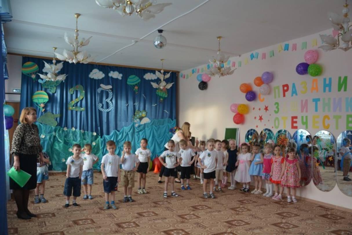 Сценарий посвященный Дню защитника Отечества «Школа настоящих мужчин» для детей средней группы