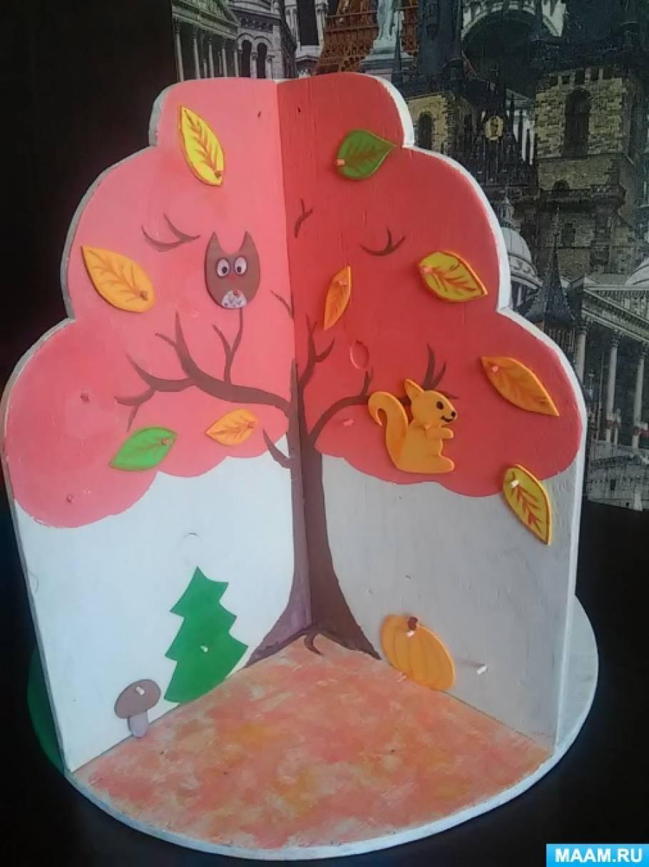 знакомство детей с временами года осень