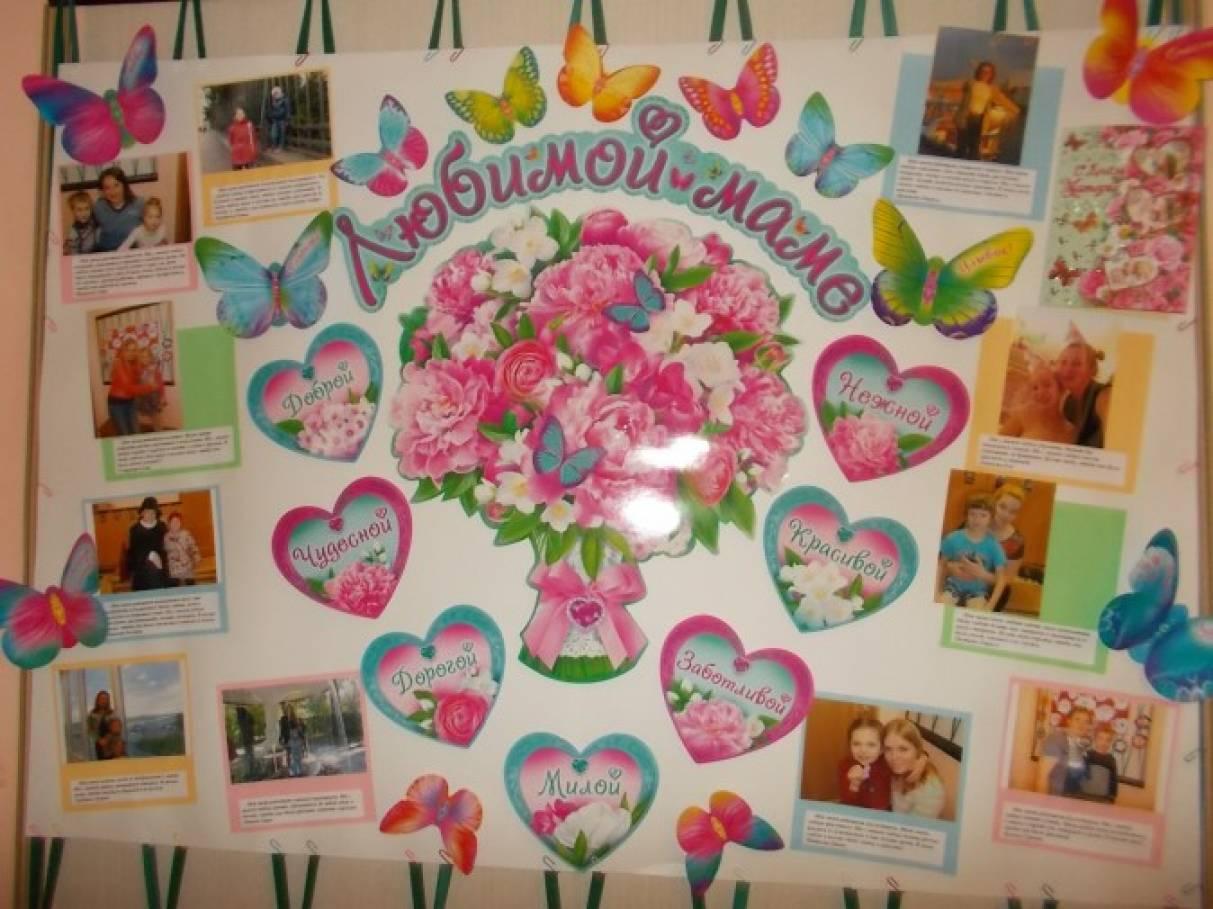 Плакат с днем рождения маме своими руками