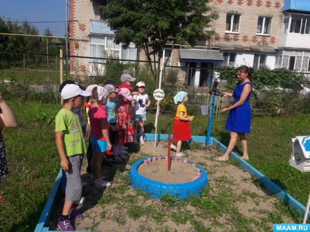 Проект «Метеостанция в детском саду»