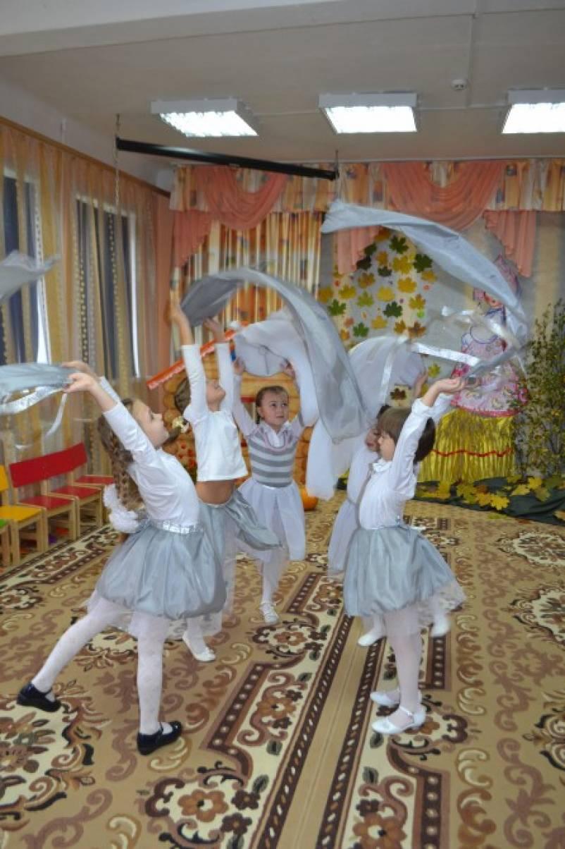 Сценарий осеннего утренника в подготовительной группе «Дети Осени все рады»