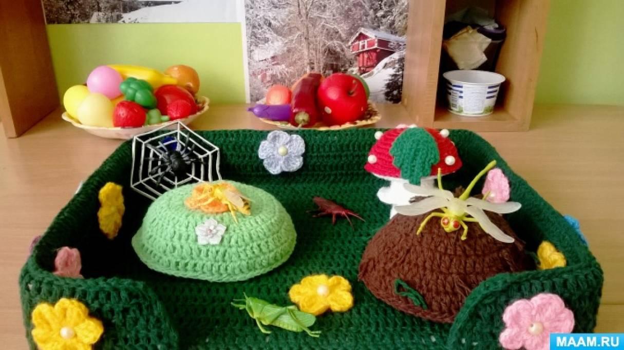 Экологические макеты «На полянке», «Зеленое болото»