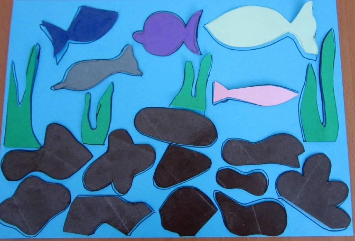 Развивающая игра для детей 4–5 лет «Подводный мир»