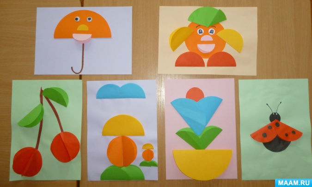 Мастер-класс по оригами для детей 3–4 лет «Волшебные кружочки».