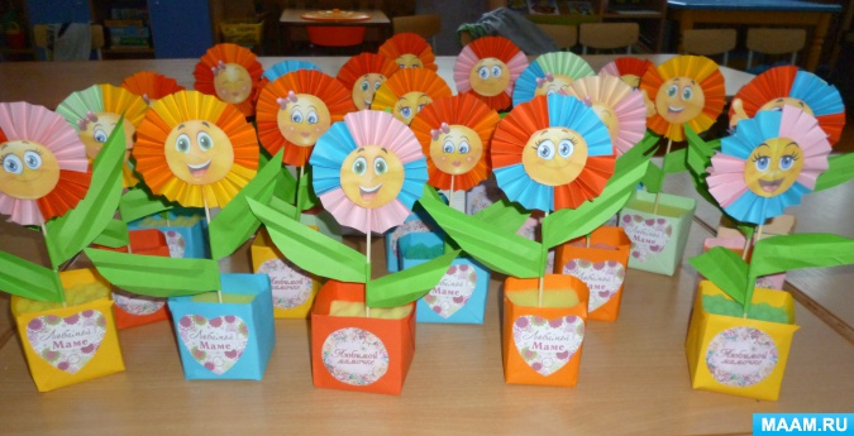 Мастер-класс «Цветок-огонек для любимой мамочки»