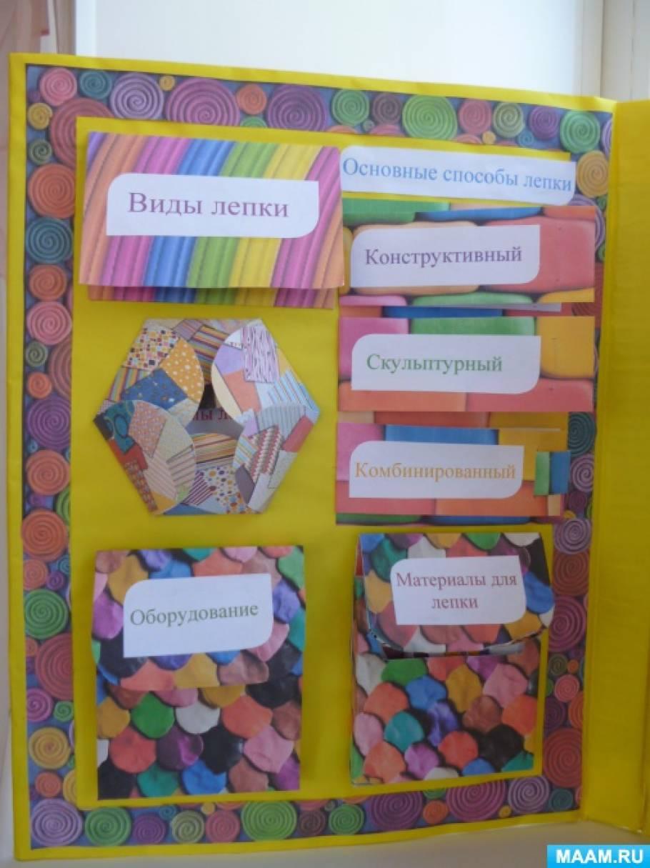 Курсовая работа на тему лепка в детском саду 2644