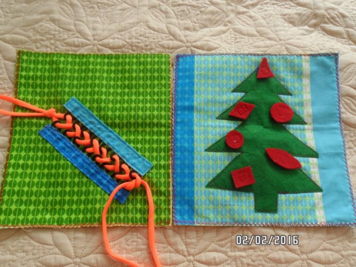 Сенсорный коврик для детей своими руками 73