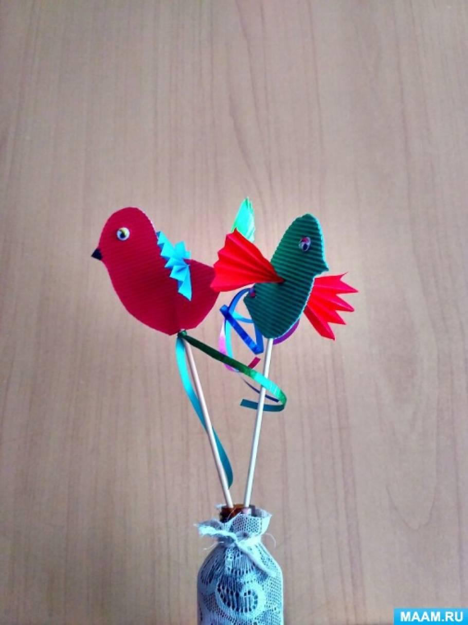 Как делать поделки с птицами