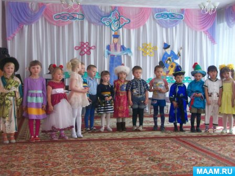 Педагогический проект: Праздник Белого месяца (Сагаалган)