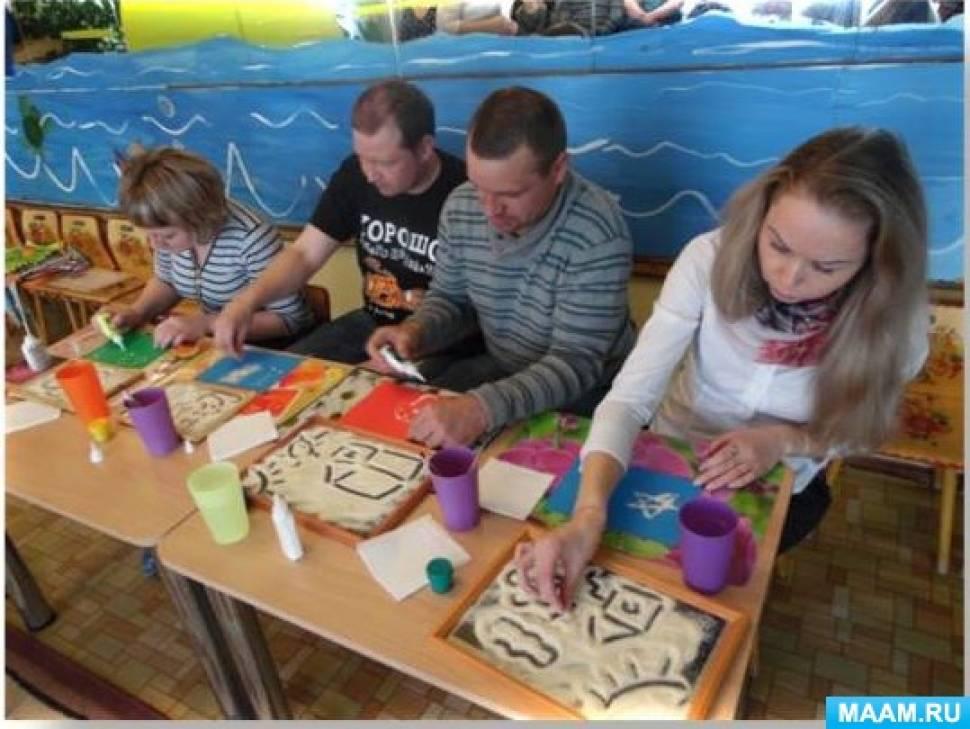 Опыт работы «Партнерское взаимодействие воспитателя дошкольной образовательной организации с семьями воспитанников»
