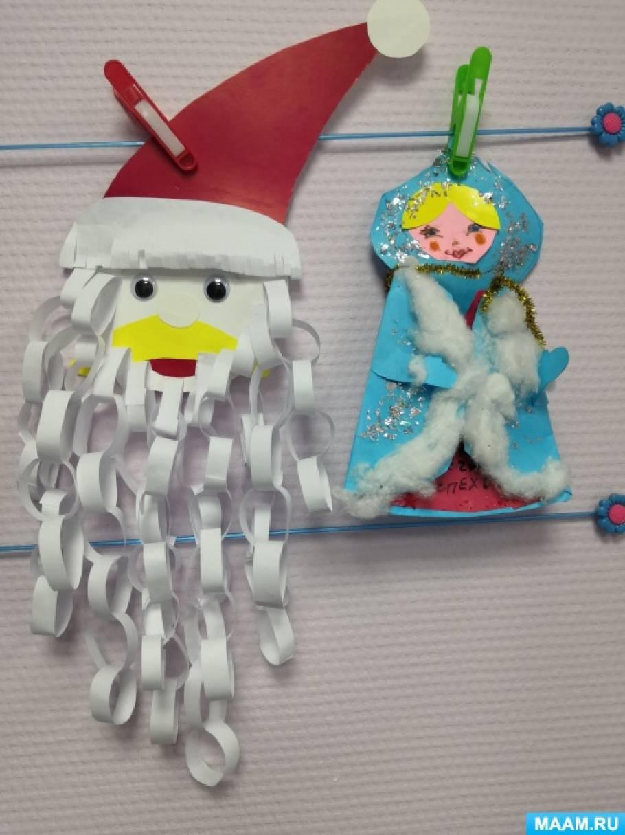 новогодние поделки фото подготовительная группа красовался фото, куклой